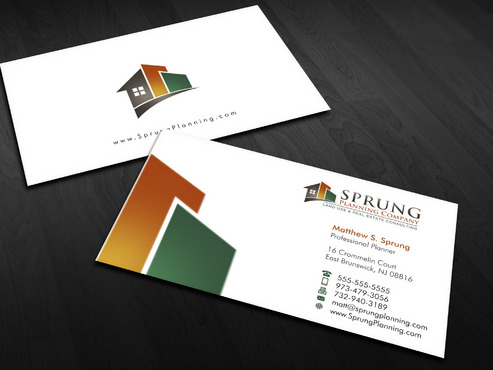 Matthew S. Sprung  Business Cards and Stationery  Draft # 8 by Xpert