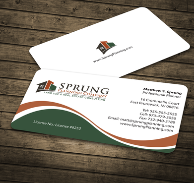 Matthew S. Sprung  Business Cards and Stationery  Draft # 182 by jpgart92