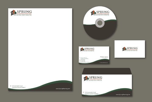 Matthew S. Sprung  Business Cards and Stationery  Draft # 195 by jpgart92