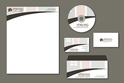 Matthew S. Sprung  Business Cards and Stationery  Draft # 197 by jpgart92