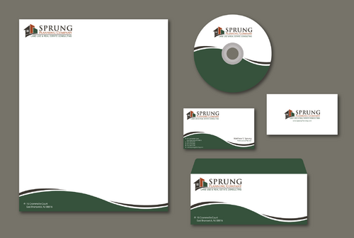 Matthew S. Sprung  Business Cards and Stationery  Draft # 199 by jpgart92