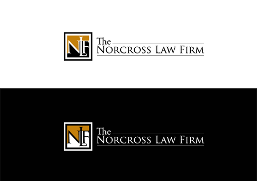 The Norcross Law Firm Logo Winning Design by AxeDesign