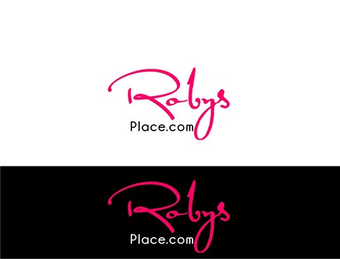 Robys Place.com A Logo, Monogram, or Icon  Draft # 2 by nellie