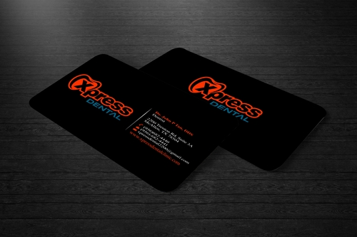 Xpress Dental Business Cards and Stationery  Draft # 94 by FASTDESGNER