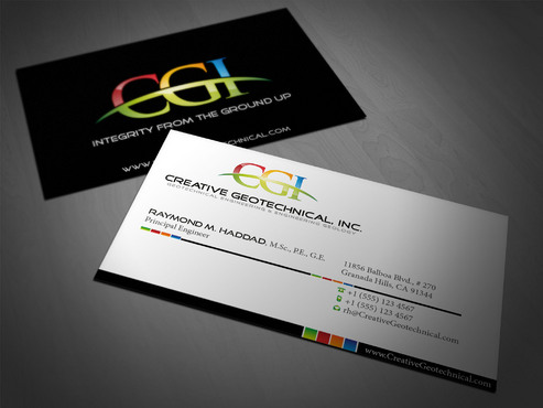 Integrity from the Ground Up Business Cards and Stationery  Draft # 65 by i3designer