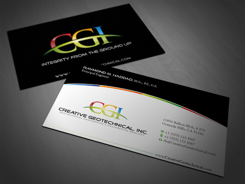 Integrity from the Ground Up Business Cards and Stationery  Draft # 67 by i3designer