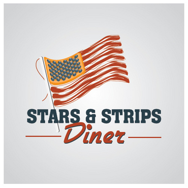 Stars & Strips Diner A Logo, Monogram, or Icon  Draft # 1 by melody1