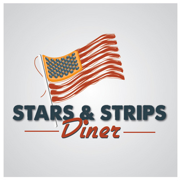 Stars & Strips Diner A Logo, Monogram, or Icon  Draft # 2 by melody1