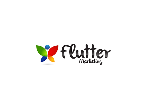 Flutter Marketing A Logo, Monogram, or Icon  Draft # 28 by decentdesign