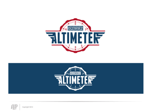 Altimeter 2992 A Logo, Monogram, or Icon  Draft # 1 by apstudio
