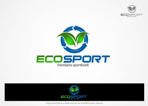 Eco Sport A Logo, Monogram, or Icon  Draft # 73 by hands4art