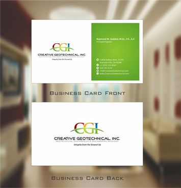 Integrity from the Ground Up Business Cards and Stationery  Draft # 119 by Deck86