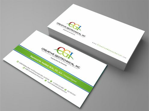 Integrity from the Ground Up Business Cards and Stationery  Draft # 120 by Deck86