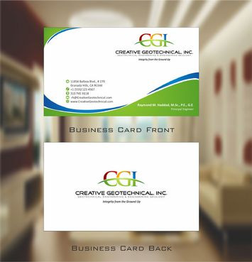 Integrity from the Ground Up Business Cards and Stationery  Draft # 124 by Deck86