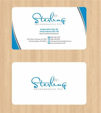 Sterling Orthodontics PLC stationary Business Cards and Stationery  Draft # 185 by Deck86