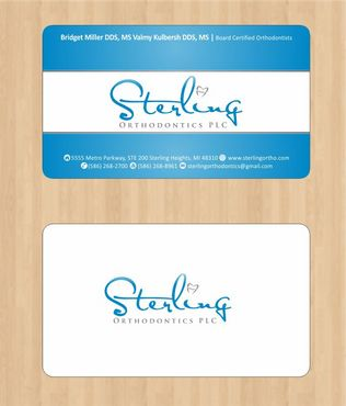 Sterling Orthodontics PLC stationary Business Cards and Stationery  Draft # 186 by Deck86