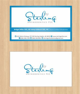 Sterling Orthodontics PLC stationary Business Cards and Stationery  Draft # 188 by Deck86