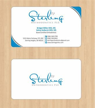 Sterling Orthodontics PLC stationary Business Cards and Stationery  Draft # 189 by Deck86