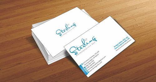 Sterling Orthodontics PLC stationary Business Cards and Stationery  Draft # 190 by Deck86