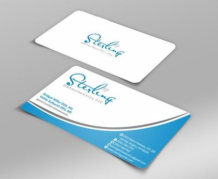 Sterling Orthodontics PLC stationary Business Cards and Stationery  Draft # 195 by Deck86