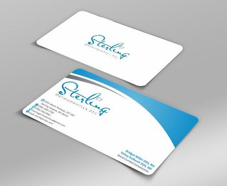 Sterling Orthodontics PLC stationary Business Cards and Stationery  Draft # 196 by Deck86