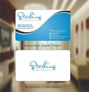 Sterling Orthodontics PLC stationary Business Cards and Stationery  Draft # 197 by Deck86