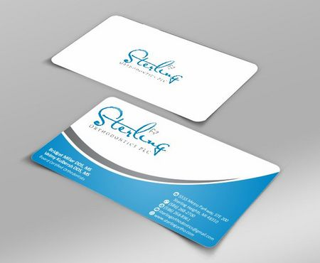Sterling Orthodontics PLC stationary Business Cards and Stationery  Draft # 199 by Deck86