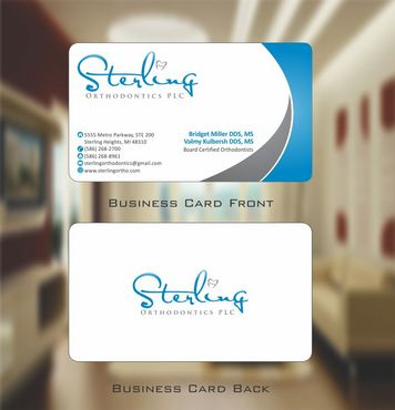 Sterling Orthodontics PLC stationary Business Cards and Stationery  Draft # 201 by Deck86