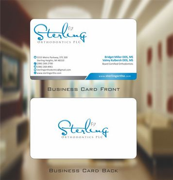 Sterling Orthodontics PLC stationary Business Cards and Stationery  Draft # 202 by Deck86