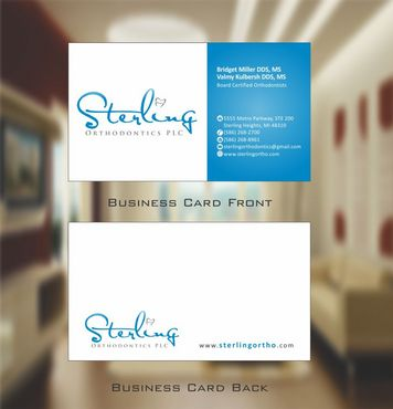Sterling Orthodontics PLC stationary Business Cards and Stationery  Draft # 204 by Deck86