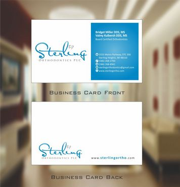 Sterling Orthodontics PLC stationary Business Cards and Stationery  Draft # 205 by Deck86