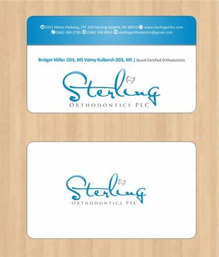 Sterling Orthodontics PLC stationary Business Cards and Stationery  Draft # 208 by Deck86