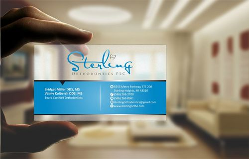 Sterling Orthodontics PLC stationary Business Cards and Stationery  Draft # 212 by Deck86