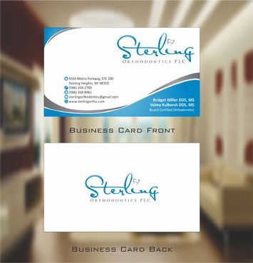 Sterling Orthodontics PLC stationary Business Cards and Stationery  Draft # 211 by Deck86