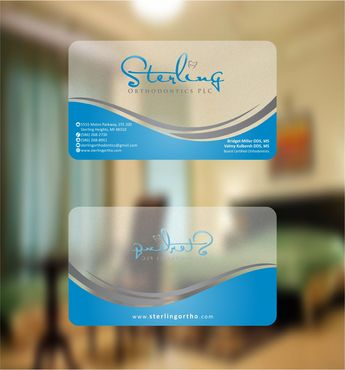 Sterling Orthodontics PLC stationary Business Cards and Stationery  Draft # 213 by Deck86