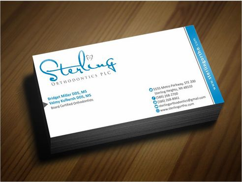 Sterling Orthodontics PLC stationary Business Cards and Stationery  Draft # 220 by Deck86
