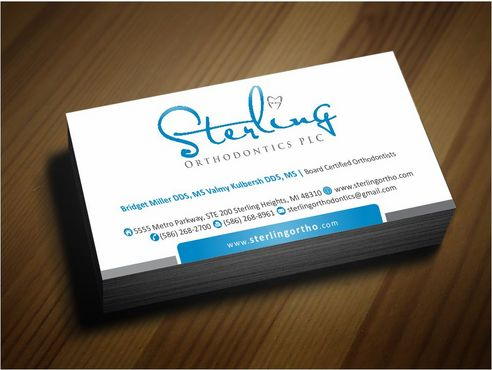 Sterling Orthodontics PLC stationary Business Cards and Stationery  Draft # 222 by Deck86