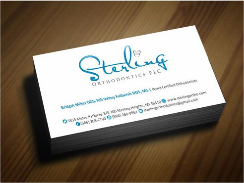 Sterling Orthodontics PLC stationary Business Cards and Stationery  Draft # 223 by Deck86