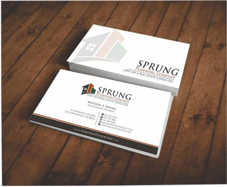 Matthew S. Sprung  Business Cards and Stationery  Draft # 201 by Deck86