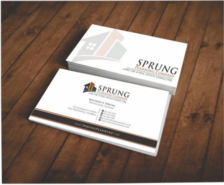 Matthew S. Sprung  Business Cards and Stationery  Draft # 203 by Deck86