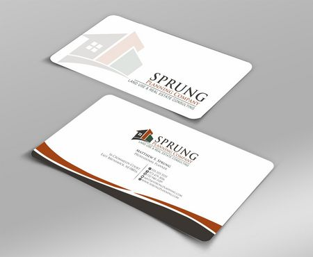 Matthew S. Sprung  Business Cards and Stationery  Draft # 206 by Deck86