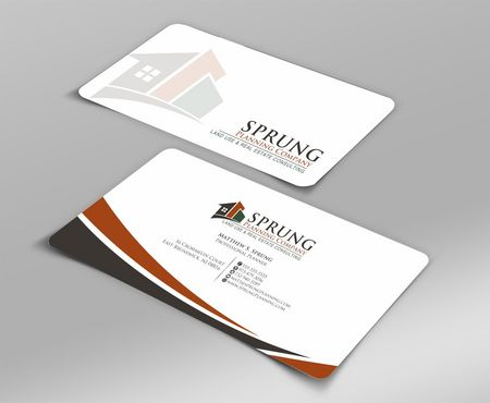 Matthew S. Sprung  Business Cards and Stationery  Draft # 208 by Deck86