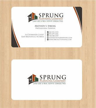 Matthew S. Sprung  Business Cards and Stationery  Draft # 209 by Deck86