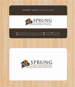 Matthew S. Sprung  Business Cards and Stationery  Draft # 210 by Deck86