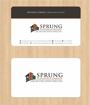 Matthew S. Sprung  Business Cards and Stationery  Draft # 211 by Deck86