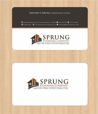 Matthew S. Sprung  Business Cards and Stationery  Draft # 212 by Deck86