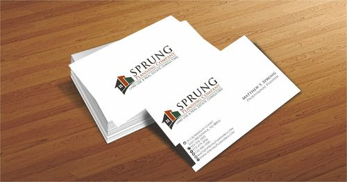 Matthew S. Sprung  Business Cards and Stationery  Draft # 214 by Deck86
