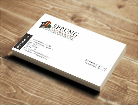 Matthew S. Sprung  Business Cards and Stationery  Draft # 215 by Deck86