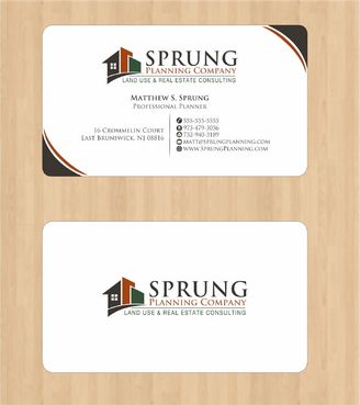 Matthew S. Sprung  Business Cards and Stationery  Draft # 216 by Deck86