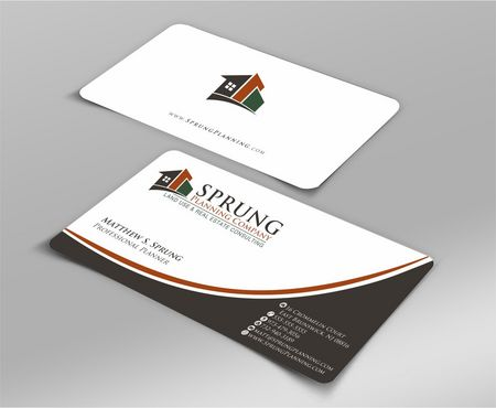 Matthew S. Sprung  Business Cards and Stationery  Draft # 217 by Deck86